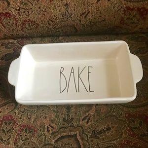 Rae Dunn BAKE Loaf Baking Dish